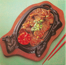 Daging Hot Plate