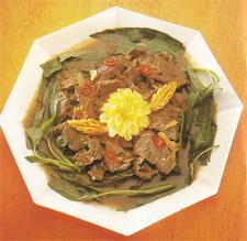 Daging Sapi Cah Kangkung